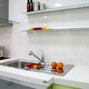 white quartz worktops