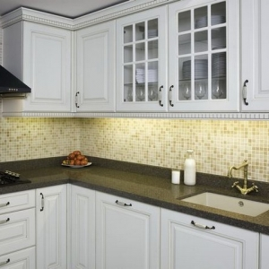 quartz worktop kitchen