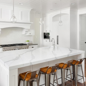 silestone white quartz