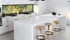 white silestone worktops
