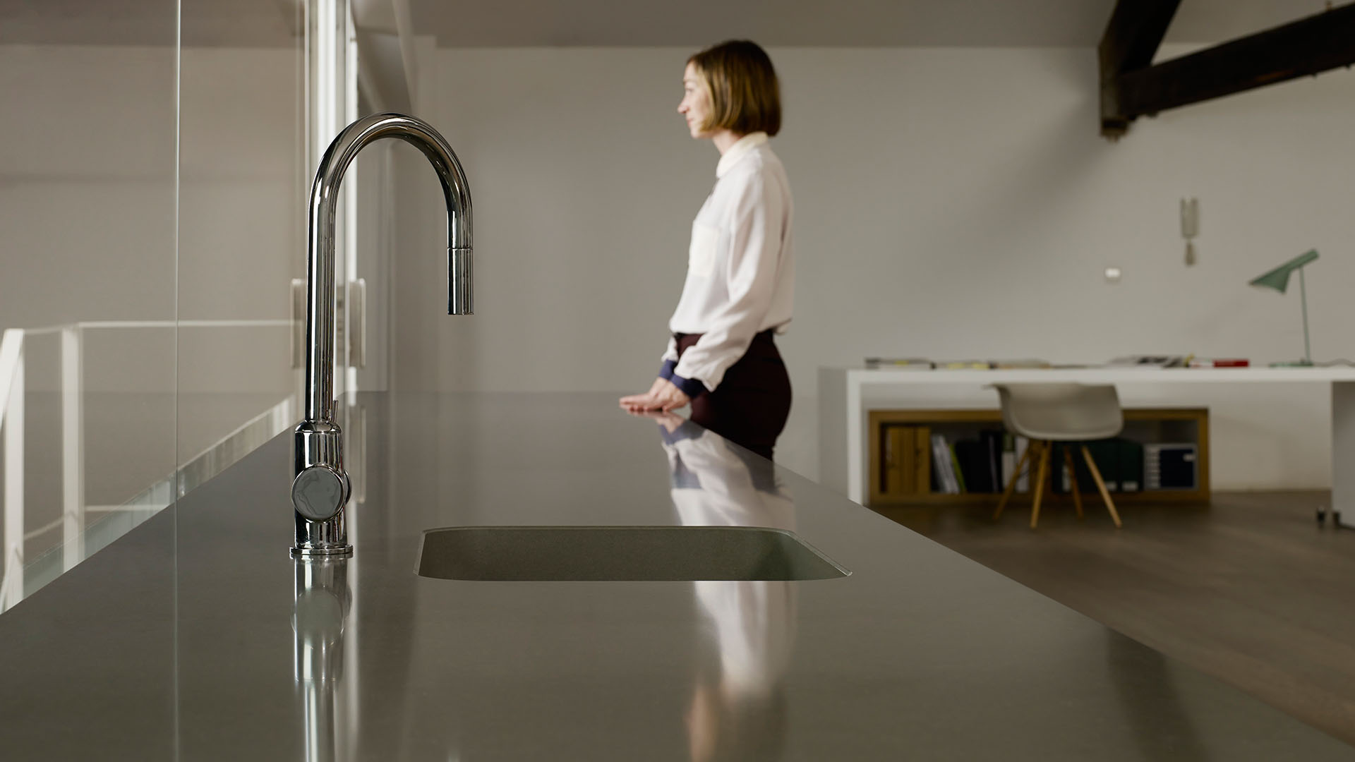 kitchen modern quartz worktops in london