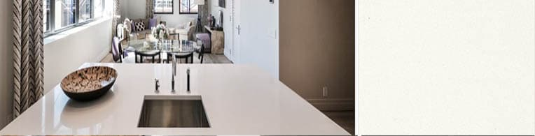 Snow - Caesarstone quartz for kitchen worktops