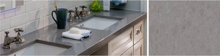 pebble quartz worktops