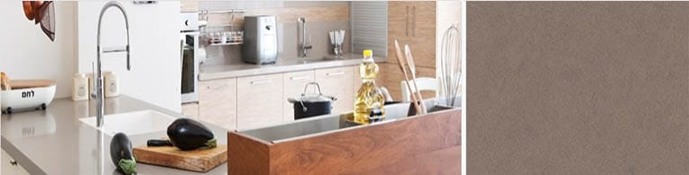 ginger quartz worktops in london
