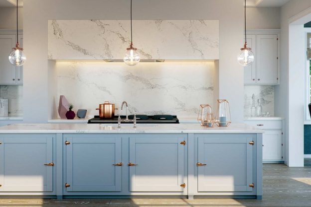kitchen quartz worktops in london