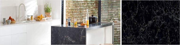 vanilla noir quartz worktops london