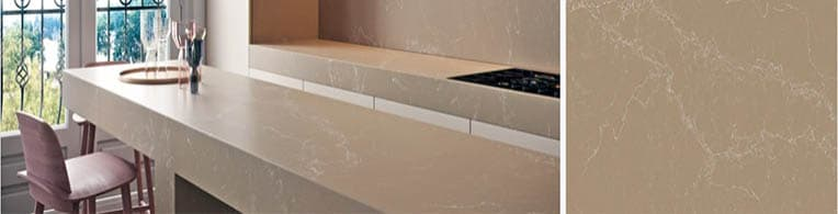 Tuscan dawn - Caesarstone quartz worktops