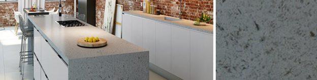 concrete quartz worktops for kitchen in london