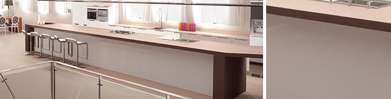 Warn Gray Quartz Worktops Sample