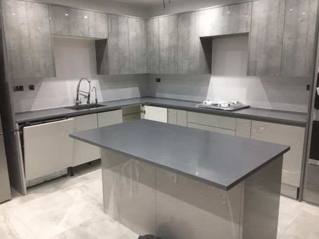 Quartz kitchen worktops in kent