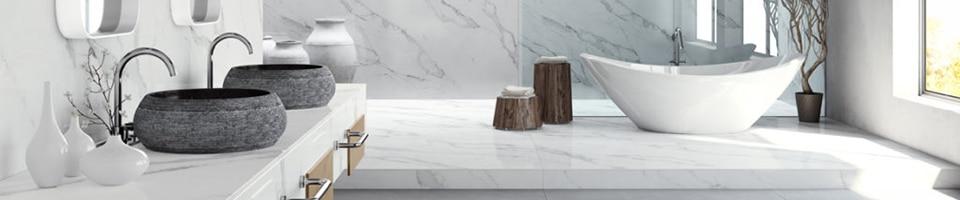 bathroom worktops that shine